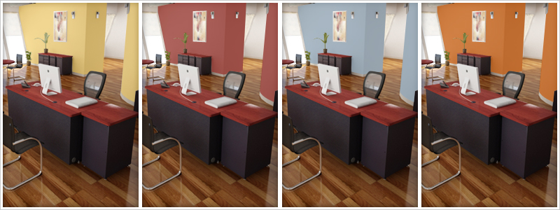 Choosing the right office colour for maximum productivity Office paint colors 2016